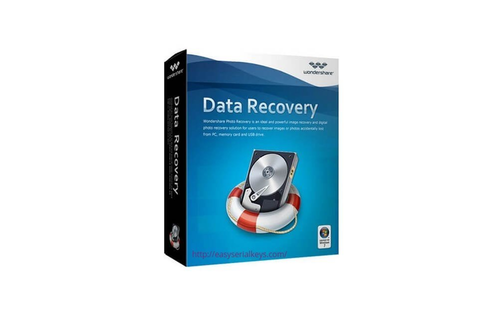 Wondershare Data Recovery 8.5.7 Crack + Activation Code cover