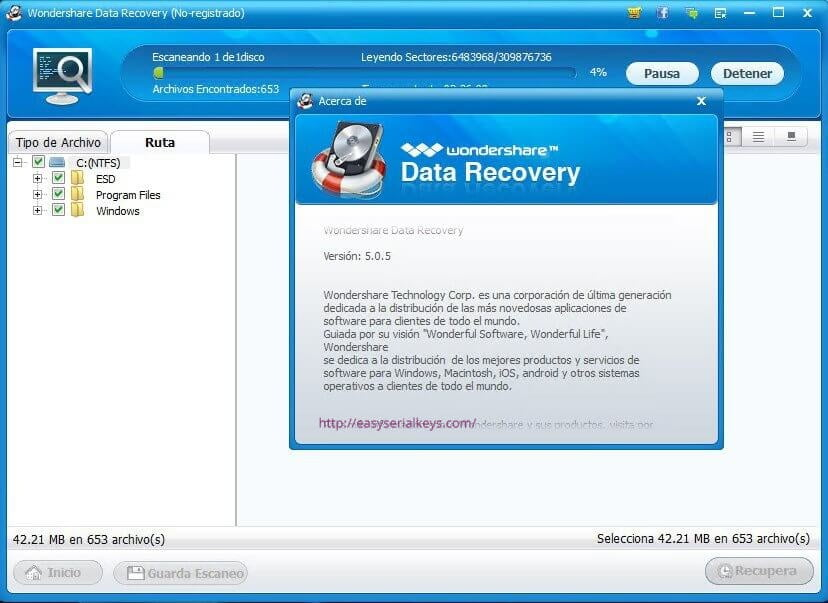 Wondershare Data Recovery 8.5.7 Crack + Activation Code