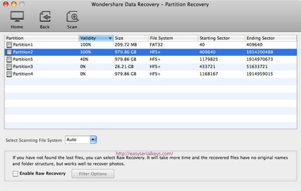 Wondershare Data Recovery 8.5.7 Crack
