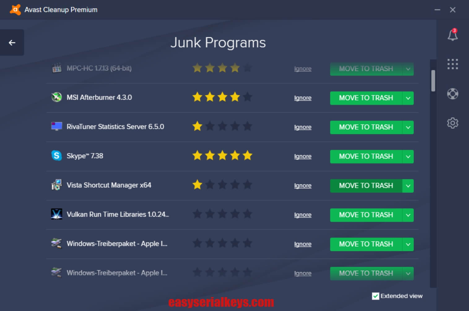 Avast Cleanup Premium Browser Cleanup