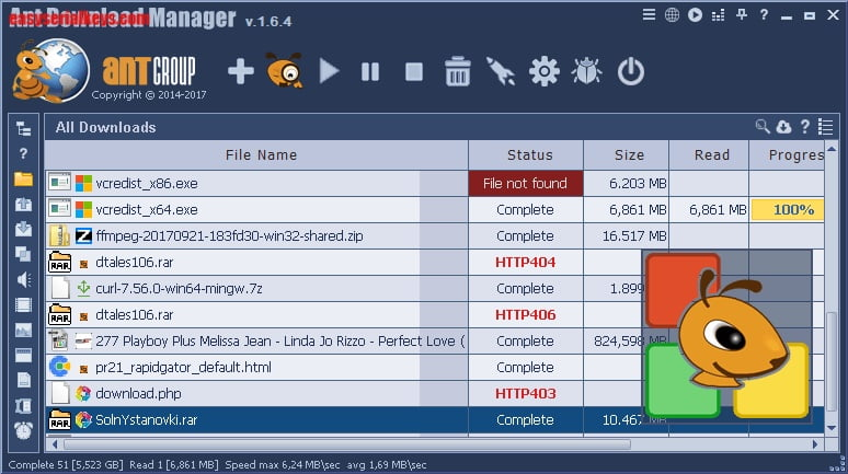 ant download manager free