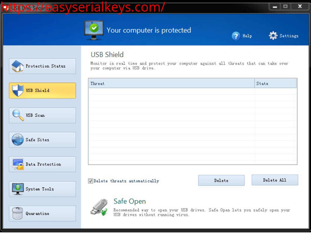 USB-Disk-Security-License Key